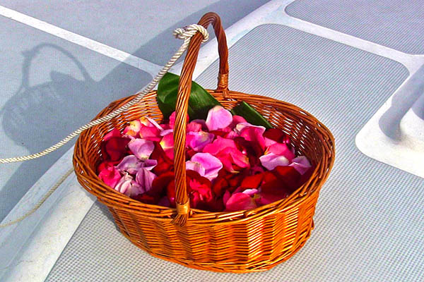 Basket for Ash Scattering at Sea