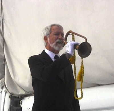Bugle for Burial at Sea Ceremony