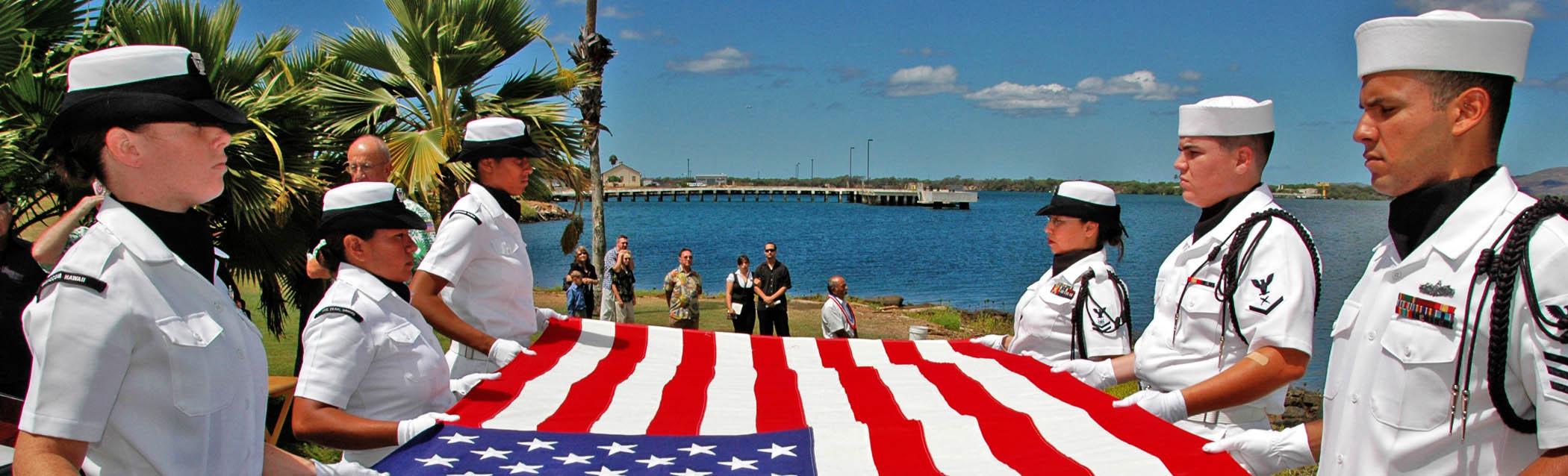 Veteran Flag Folding Meaning