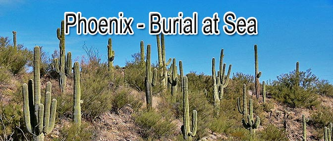 Arizona Residents – Burial at Sea
