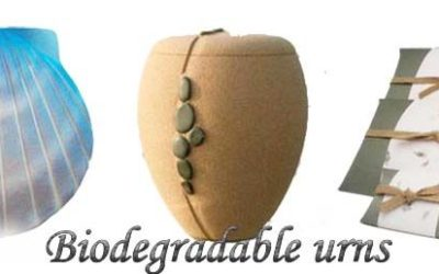 Biodegradable Urns – For Sea Burial