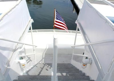 Yacht Aft Stairs