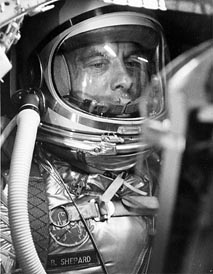 Alan Shepard - famous people buried at sea