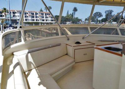 Yacht Flybridge